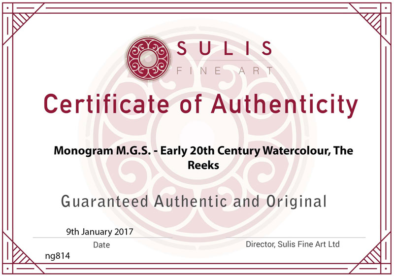 Certificate Of Authenticity Template Art